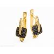 Золотые серьги С-291