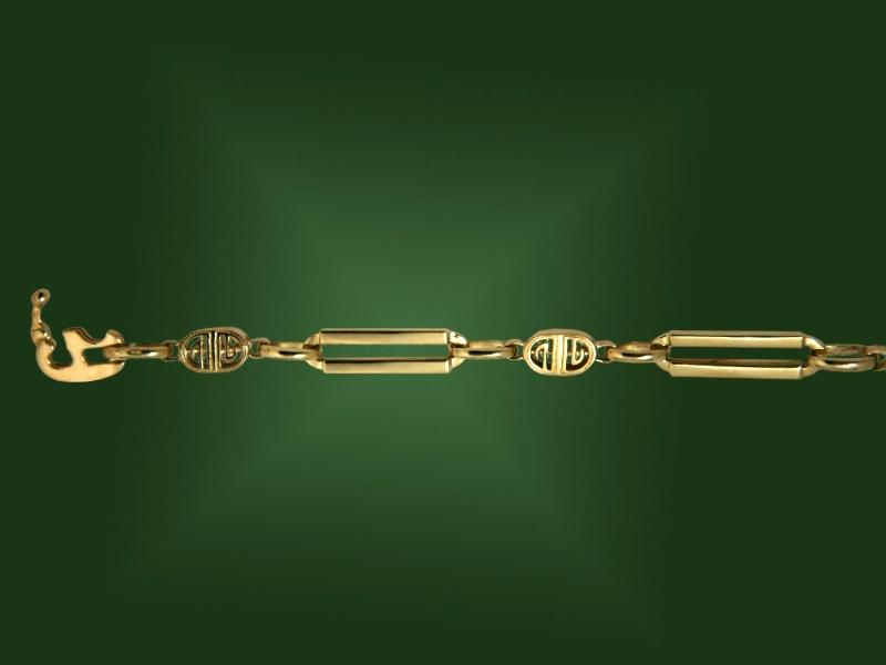 Золотая цепь Ц-010