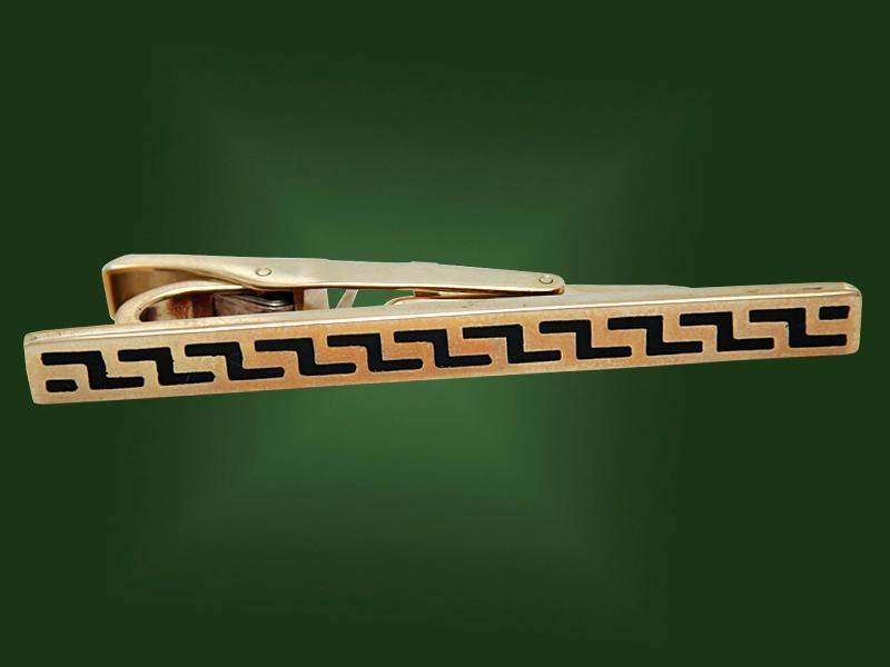 Золотой зажим З-004